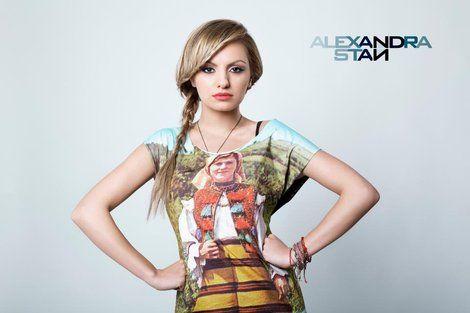 Alexandra Stan, singer Woman at Work Dress by Lana Dumitru  #lana #dumitru #lanadumitru #digitalprint