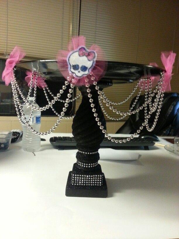 Monster High Cake Stand