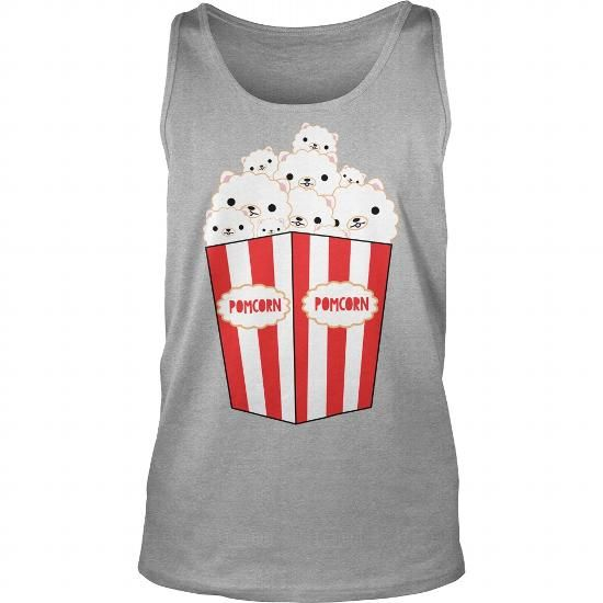 Awesome Pomeranian Lovers Tee Shirts Gift for you or your family your friend:  POMERANIAN POPCORN Tee Shirts T-Shirts