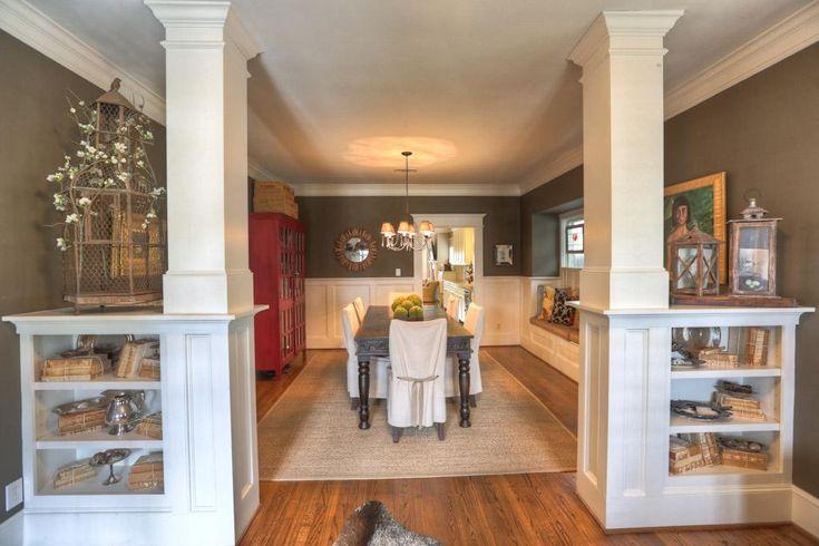 Kitchen Dining Room Divider Columns