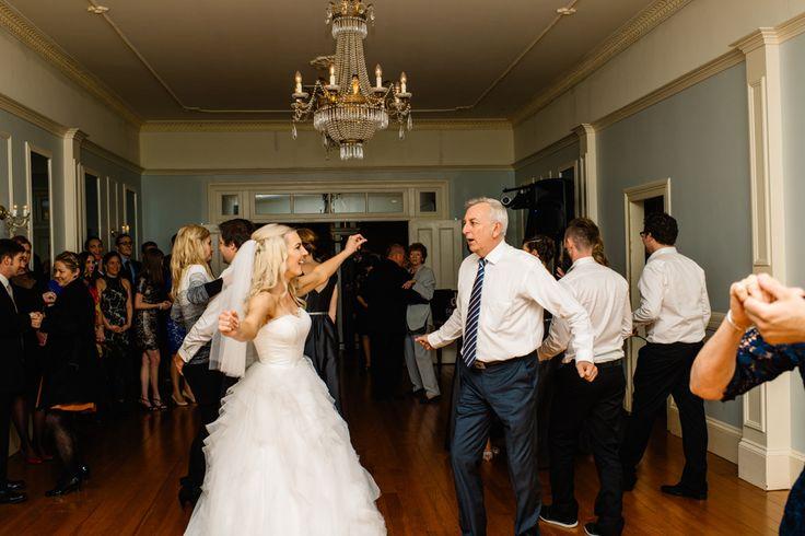 Laurie in her custom made Ella Moda wedding gown #bride #ellamoda #weddinggown
