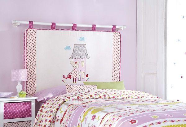 Idea decoraci n de la colecci n cool kids de scenes by - Cabecero cama infantil ...