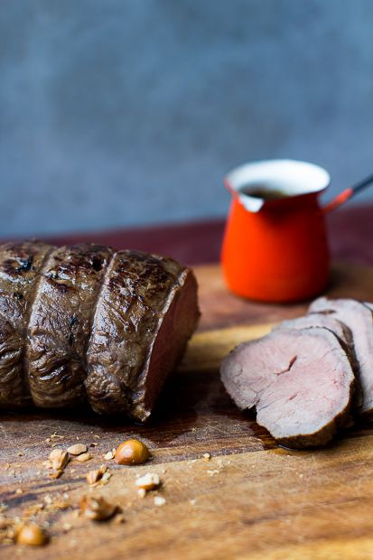 Beef sirloin steak, so good!
