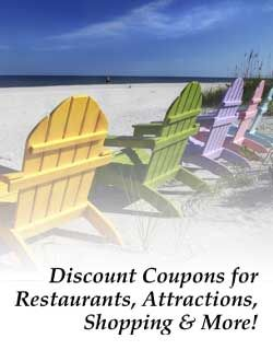 Discount coupons for restaurants, attractions, shopping and more!