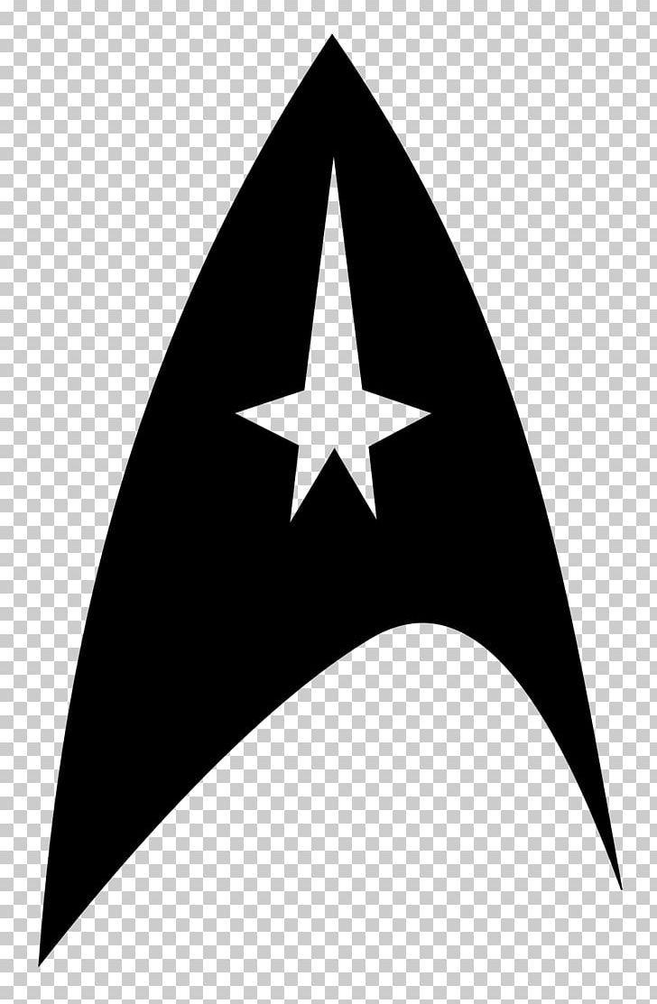 Star Trek Symbol Starfleet Logo Png Angle Black And White Decal Emblem Gene Roddenberry Star Trek Symbol Star Trek Emblem Star Trek
