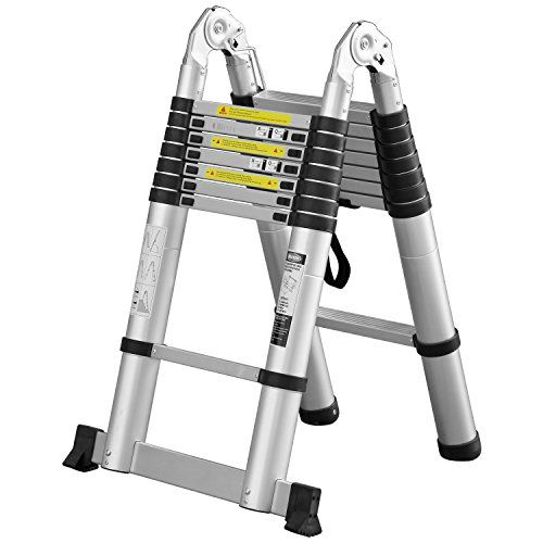 Ollieroo 16.5ft EN131 Portable A-type Aluminum Telescopic... https://www.amazon.com/dp/B01AHI8CEK/ref=cm_sw_r_pi_dp_x_Z9A9xbC1MPSM3