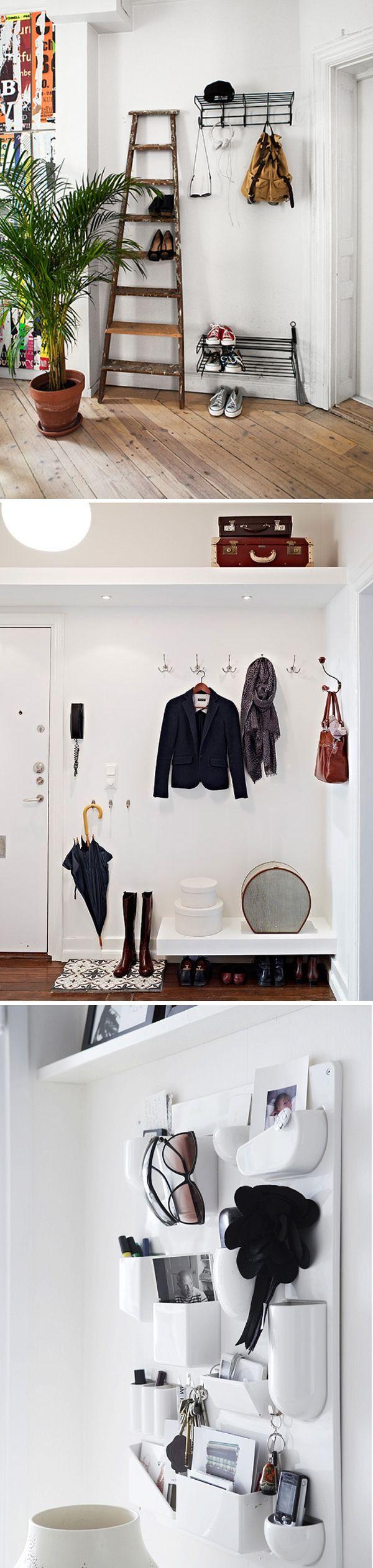 Small hall storage