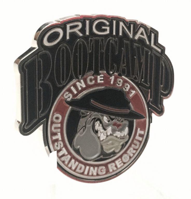 Recruit outstanding award coin.