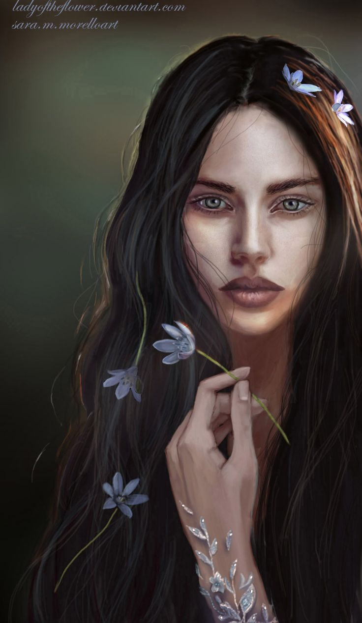 Лутиэн   Luthien by Ladyoftheflower on DeviantArt