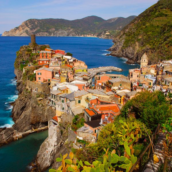 ...hiking along the mountainous coast of the Ligurian Riviera on a hot afternoon, through vineyards with the occasional shade of lemon and olive trees, with the promise of a gnocchi dinner at trail's end in a Mediterranean port--if this is 'roughing it,' then give me more!   After sunset, sipping...