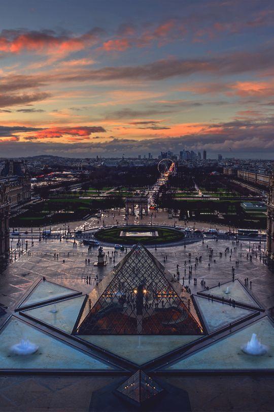 "mistergoodlife: ""La Pyramide du Louvre • Mr. Goodlife • Instagram """