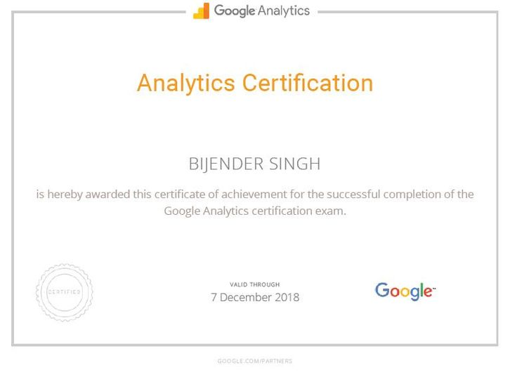 #digitalmarketing #digital #analytics #googleanalytics #google #report #certified #certification #seo #bijenderdigital