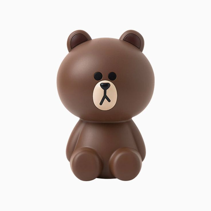 Naver Line Friends Brown USB Air Cleaner Purifier 2W #airsave