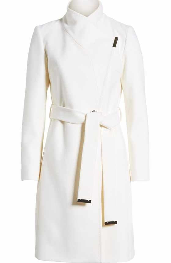 1cbc7c89fd899 Lauren Ralph Lauren Wool Blend Wrap Coat (Regular   Petite) (Online Only)  at Nordstrom.com. Exuding timeless elegance