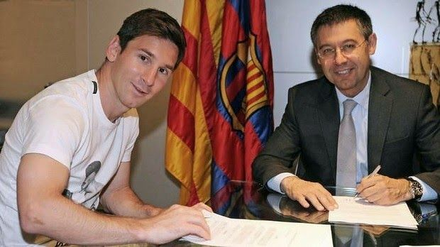 The Legend Lionel Messi: Barcelona president denies rumors of the departure...