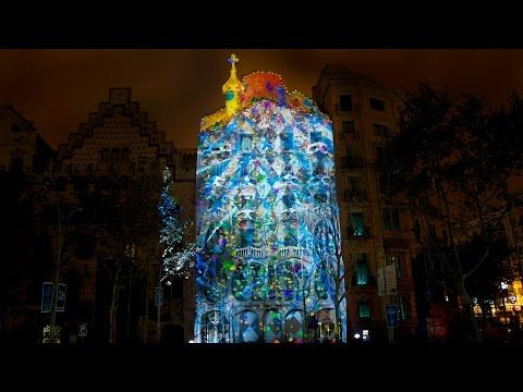 El despertar de la Casa Batlló (Mapping Oficial HD) - YouTube