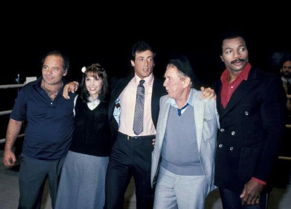 Burt, Talia, Sly, Burgess and Carl