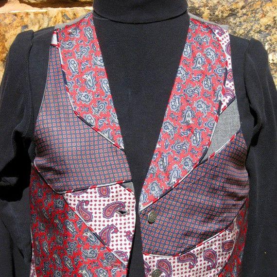 repurposed silk ties