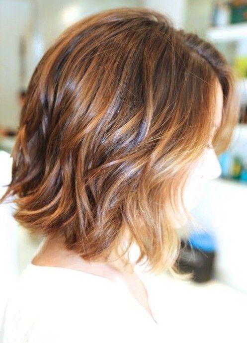 12 gestufte mittellange Frisuren, die Du mal probieren solltest! - Neue Frisur