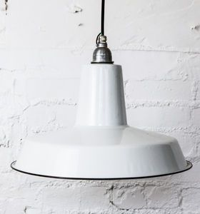 Linton Factory Industrial Pendant Light. Dowsing and Reynolds £80