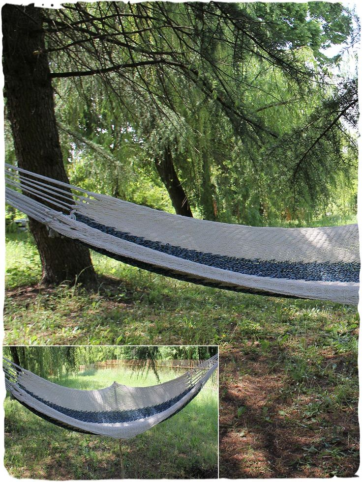 Amaca Gaia #Amaca di #rete in puro #cotone. #Comoda ed #ampia l' #amaca è un vero #relax per le #calde #serate #estive. made in #Guatemala 100% #cotone lunghezza 360 cm, single
