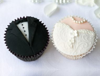 Hochzeit Cupcakes - Rezept                                                                                                                                                                                 Mehr