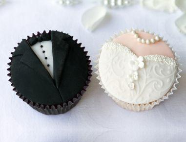 Hochzeit Cupcakes - Rezept