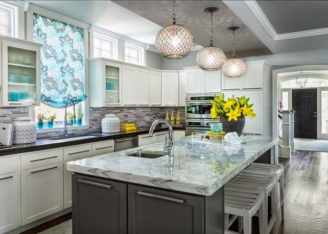 Kitchen Ideas Uk 2014 32 best two tone kitchen design ideas images on pinterest