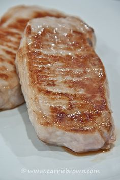 This really is the BEST way to cook pork chops! I buy a roast and cut the chops myself.
