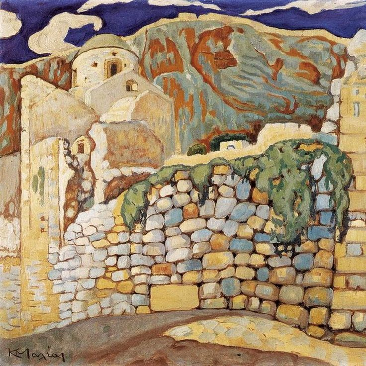 Constantine Maleas - Castle at Monemvasia