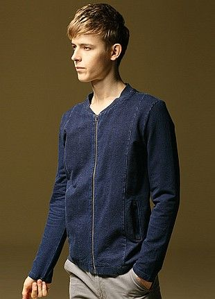 Allin Menswear Jacket-Navy