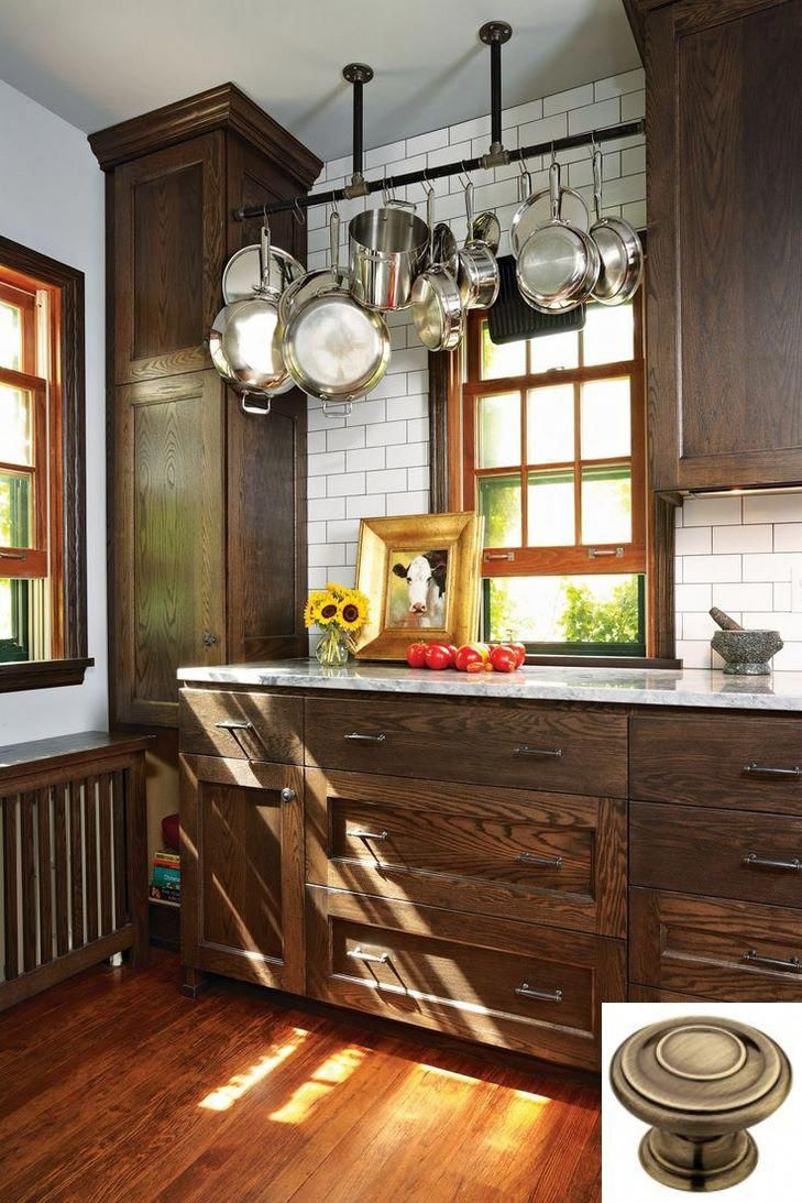 Dark Light Oak Maple Cherry Cabinetry And Kitchen Cabinets Wood Unfinished Check Pin Fo Brown Kitchen Cabinets Dark Brown Kitchen Cabinets Brown Kitchens