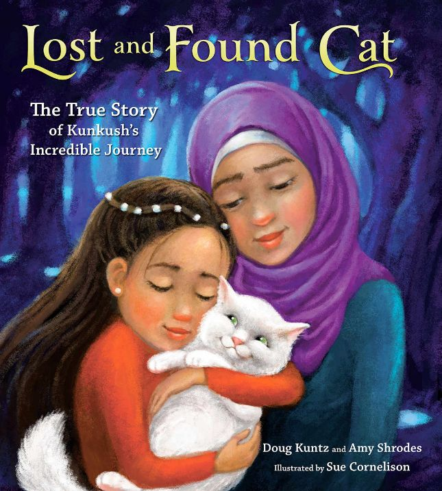 Refugees are an important issue right now that's on many people's mind, an issue that may be difficult for parents to explain to children. In order to help with these complex issues, many books for children and teens have been released. The New York Times shone a spotlight on this trend this week, featuring two articles focused on books for children about refugees.Lost and Found Cat: The True Story of Kunkush's Incredible Journey, written by Doug Kuntz and Amy Shrodes and illustrated by Sue…