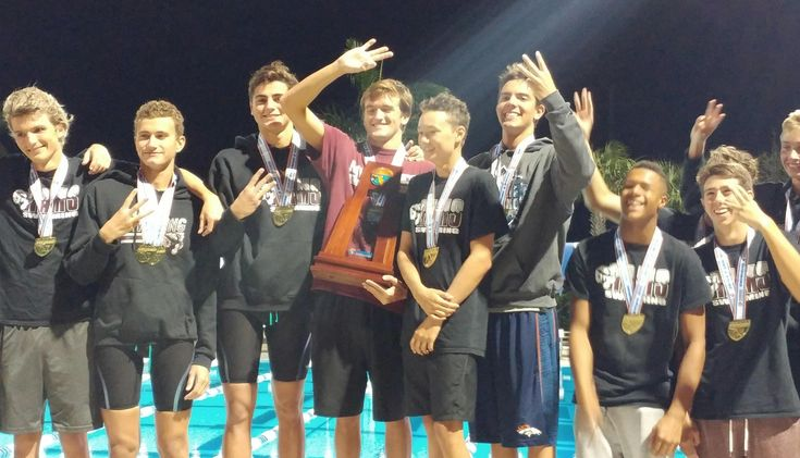 Riverview (Sarasota) captures 4A Boys State Swimming Title. From HeraldTribune.com