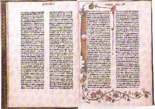 Acculturarsi: Dono a Princeton. Anche la Bibbia di Gutenberg