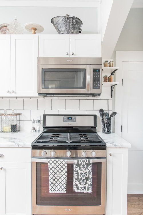 Elizabeth Burns Design Farmhouse DIY renovation, budget kitchen - Kitchen Renovation On A Budget