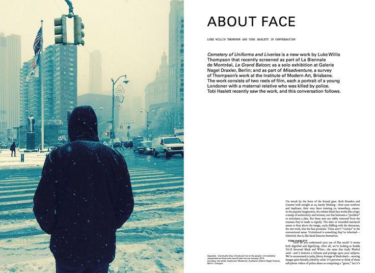 #moussemagazine #lukewillisthompson #tobihaslett  #art #contemporaryart