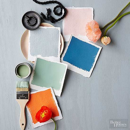 This year's palette is downright upbeat. Don't worry -- not the exuberant, jumping-on-the-couch kind of happy. It's more like the kind of happy where your glass is half-full with an Aperol spritz and your current view is of t/