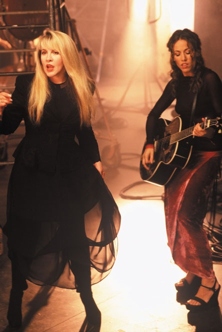 Stevie Nicks and Sheryl Crowe. I actually can't stand Sheryl Crowe, but they did some great collaborating.
