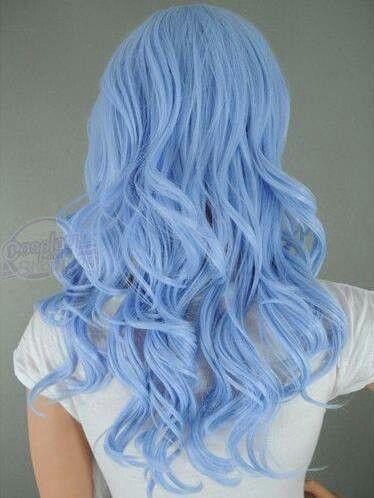 soft blue hair color pinterest hair coloring