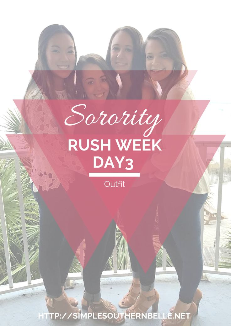 What to Wear: Sorority Rush Week Day 3  http://simplesouthernbelle.net