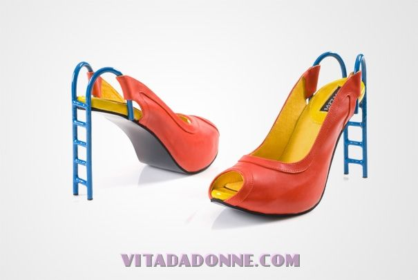 Le più strane scarpe con tacchi a spillo, da vedere assolutamente - Donne e moda - Vita Da Donne