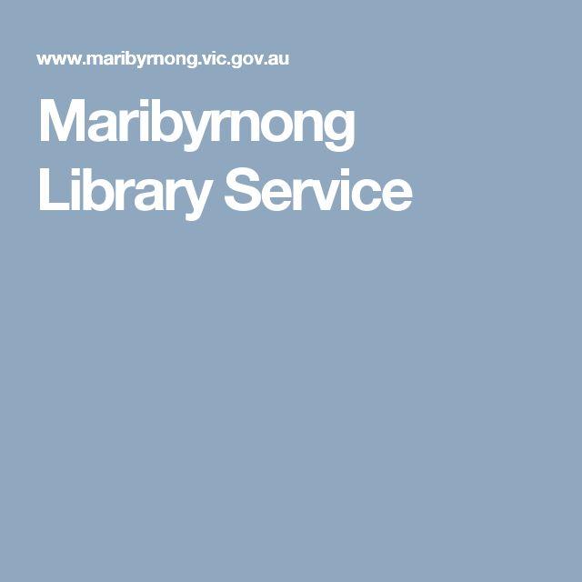 Maribyrnong Library Service