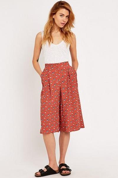 Urban Outfitters Floral Culottes #shorts #women #women #covetme #nastygal #fashion #yolo #swag #lifestyle #pink #diva #glitter #highfashion #follow #zara #dolcegabanna covetme #cooperativebyurbanoutfitters
