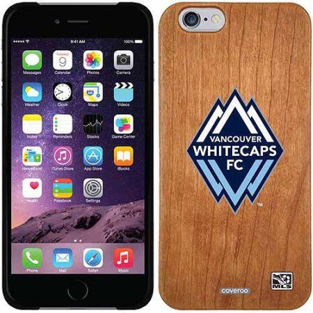 Vancouver Whitecaps FC Emblem Design on Apple iPhone 6 Madera Thinshield Case by Coveroo