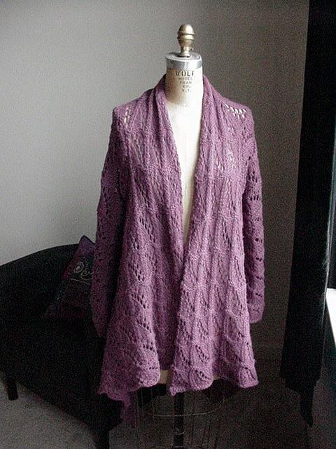 Knitting Pattern For Yoga Wrap : Yoga Wrap Sweater Yarnyarnyarnyarnyarn Pinterest ...