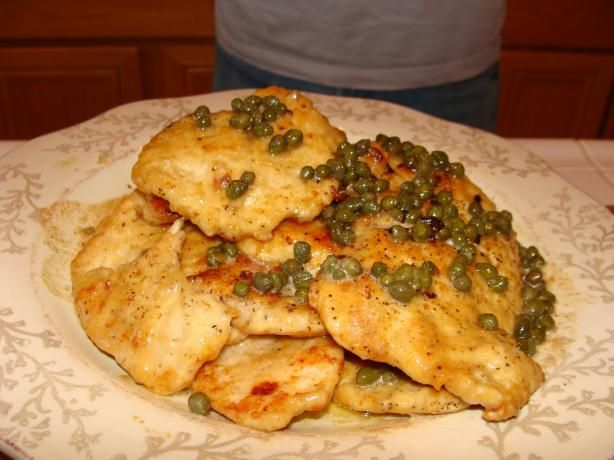 Love Lemon Chicken.... not a fan of capers so I will not use them... This would be amazing with lemon asparagus. nice light meal for the summer.