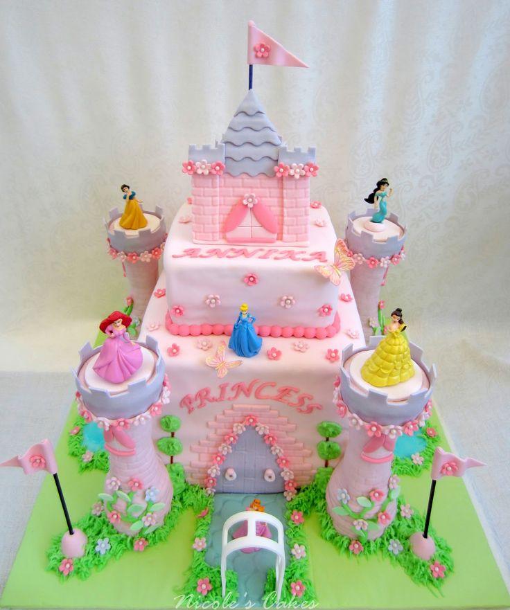 princess cake   Confections, Cakes & Creations!: Princess Castle Cake