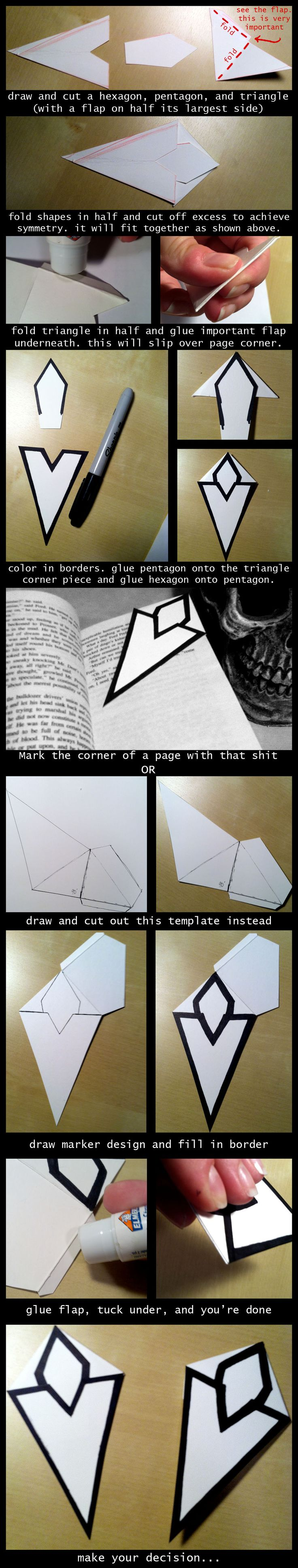 Two DIY Skyrim Quest Bookmarker Tutorials