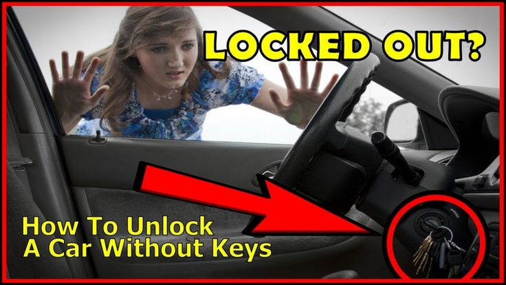 How to unlock a car door without keys the easy way in